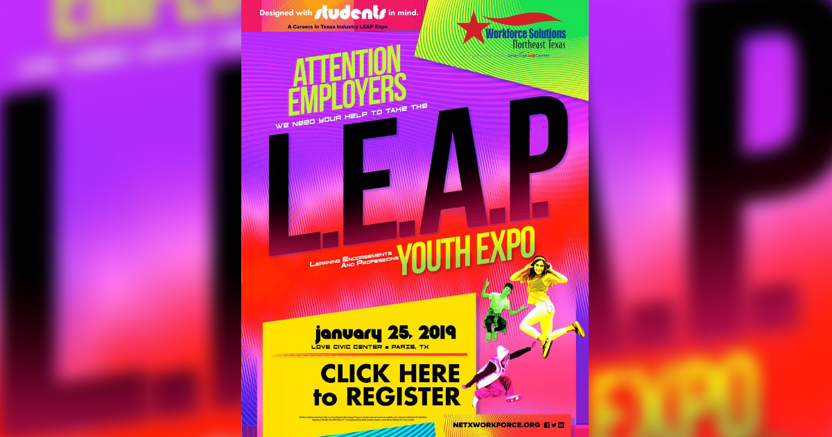 L.E.A.P. Youth Career Expo coming to Paris