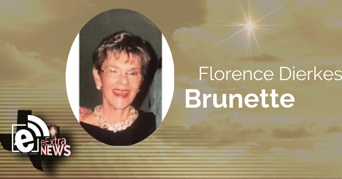 Florence Dierkes Brunette of Paris, Texas