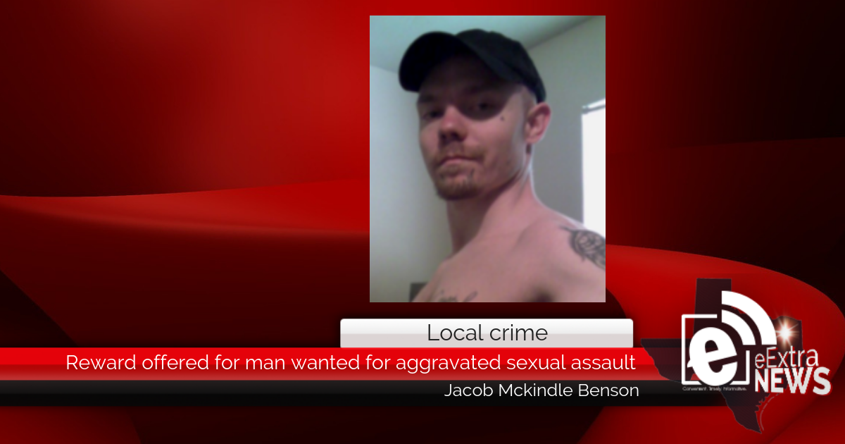Reward offered for man wanted for aggravated sexual assault
