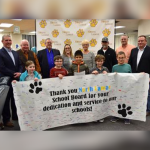 North Lamar recognizes school board