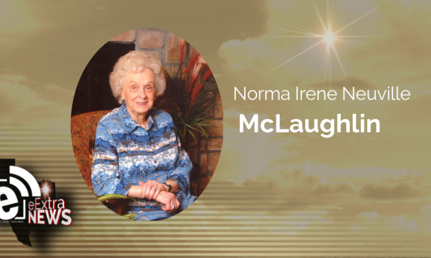 Norma Irene Neuville McLaughlin of Paris, Texas