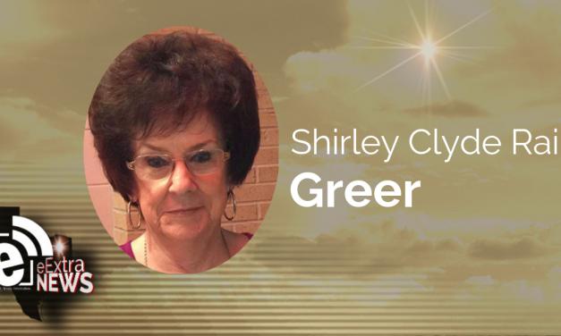 Shirley Clyde Rains Greer of Paris, Texas