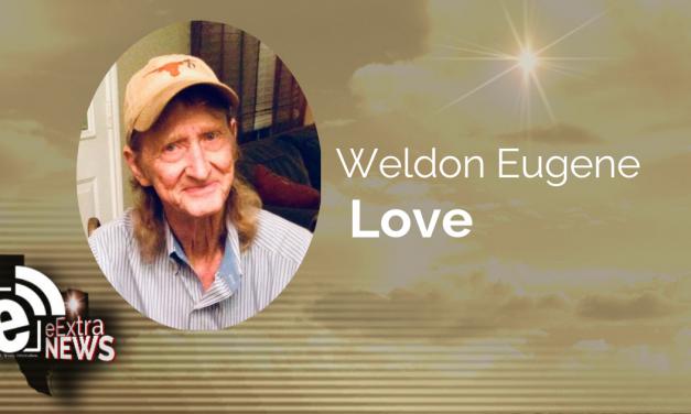 Weldon Eugene Love of Paris, Texas