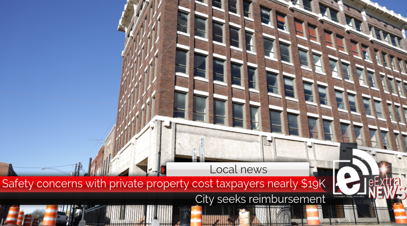 Safety concerns with private property cost taxpayers nearly $19K || City seeks reimbursement