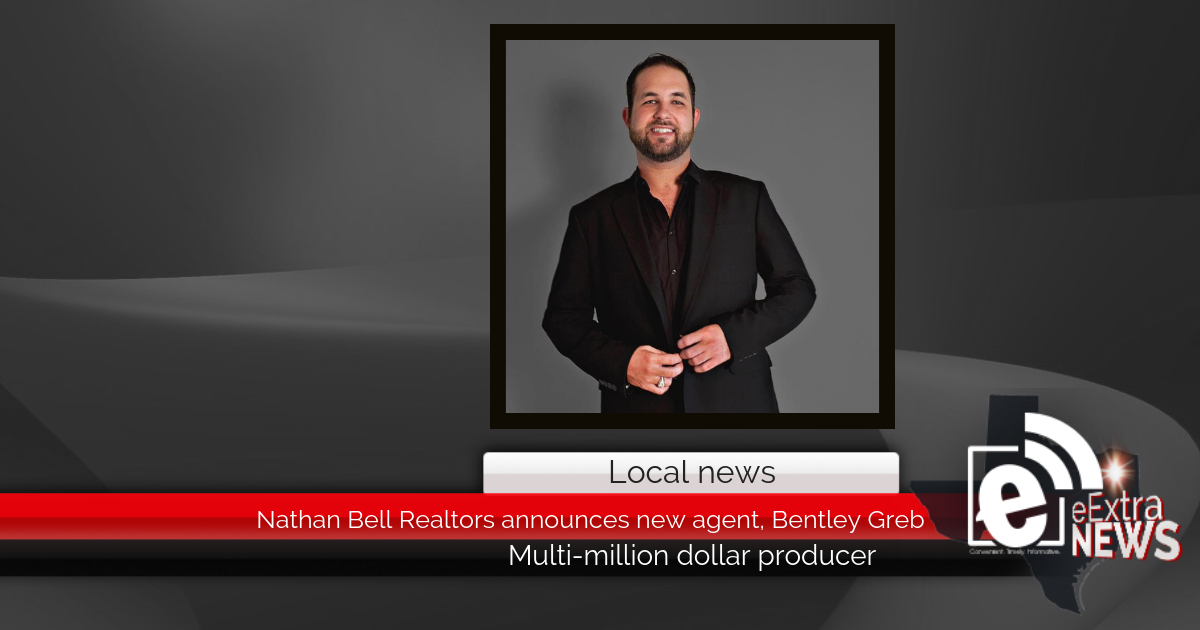 Nathan Bell Realtors announces new agent, Bentley Greb