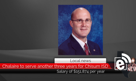 Chalaire to serve another three years for Chisum ISD