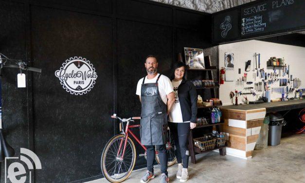 New cycling shop rolls into Paris