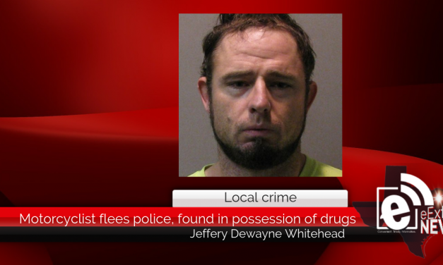 Motorcyclist flees police, found in possession of drugs