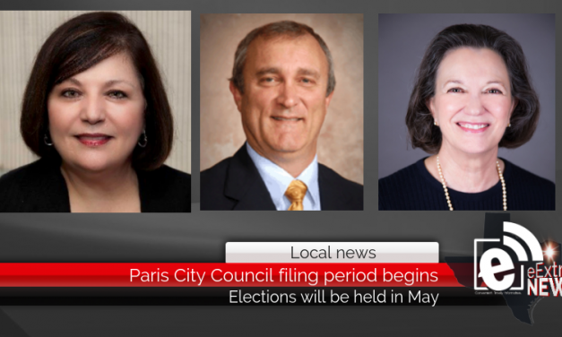 Updated: Paris City Council filing period begins || Elections will be held in May