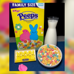 Kellogg's is debuting a limited edition Peeps cereal for Easter