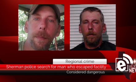 Sherman police search for man who escaped facility