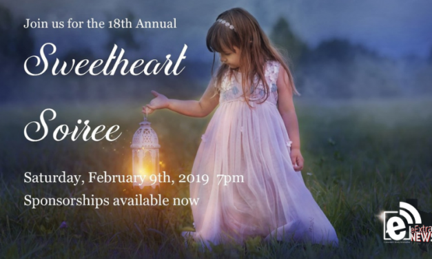 Sweetheart Soiree is set for Feb. 9, 2019