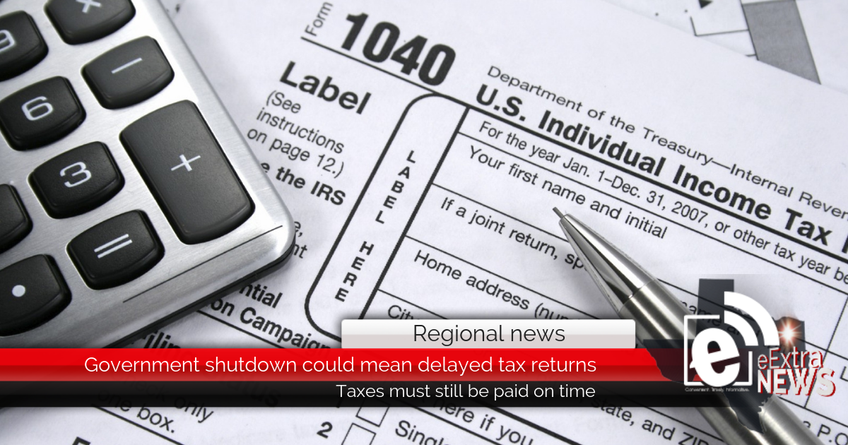 The government shutdown could delay your tax refund