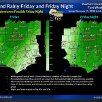 A cool and rainy Friday and Friday night ahead || Weather outlook