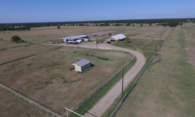 122 acre ranch home for sale in Cooper, Texas || $579,000
