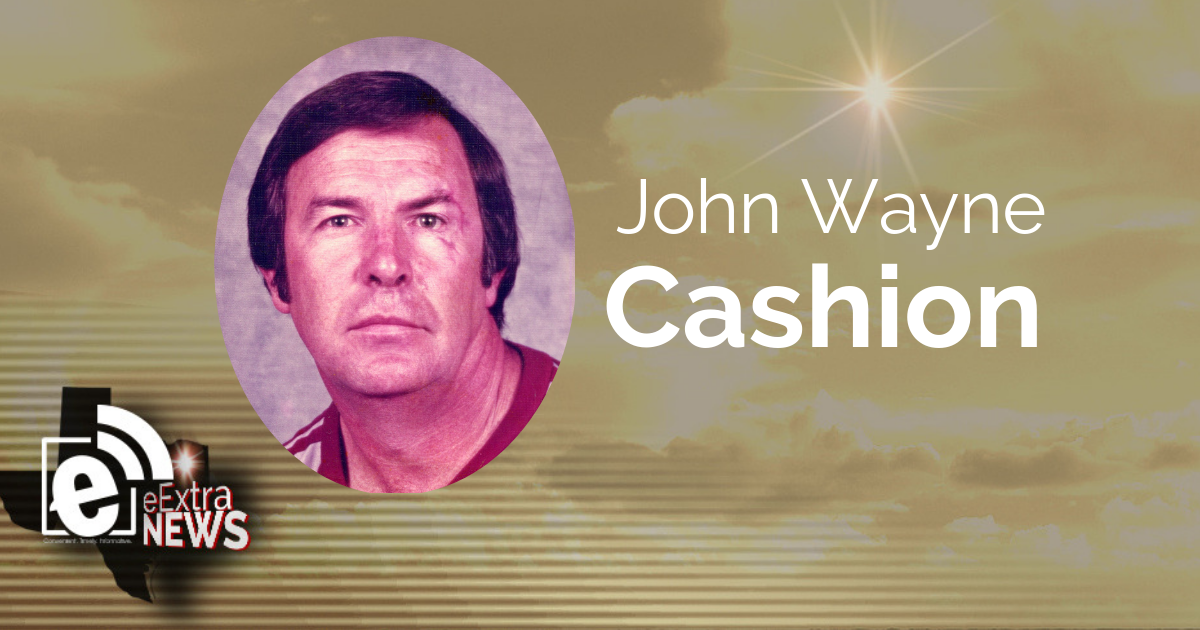 John Wayne Cashion of Paris, Texas