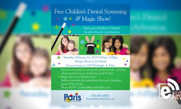 Free Children's Dental Screening & Magic Show