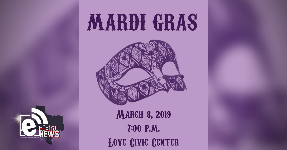 Tickets are still available for the LCHRC Mardi Gras event