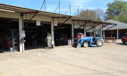 Productive tire shop and home for sale in Clarksville, Texas || $345,000