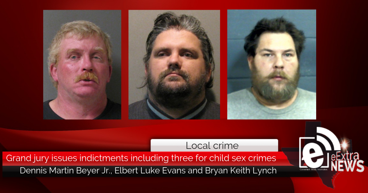 Grand jury issues indictments including three for child ...
