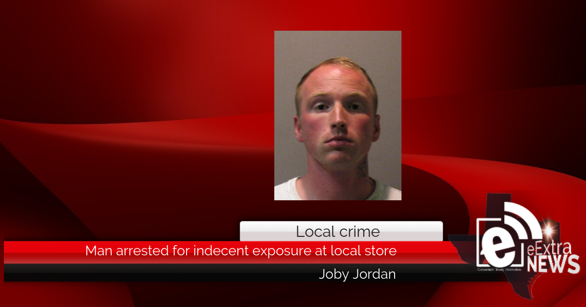 Man arrested for indecent exposure at local store
