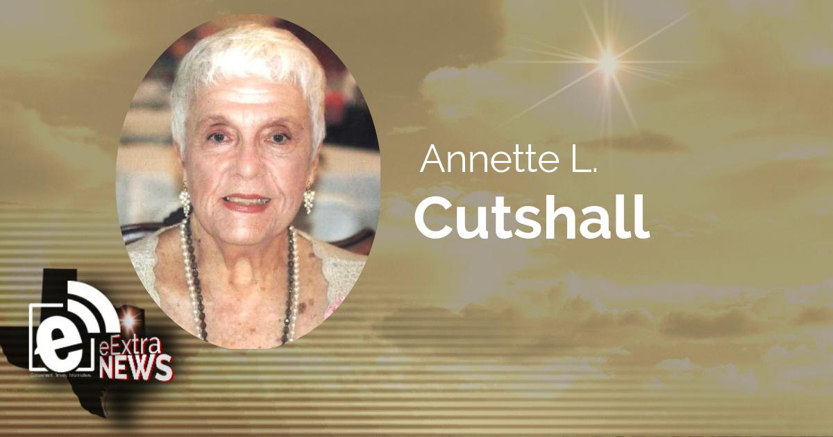 Annette L. Cutshall of Paris, Texas