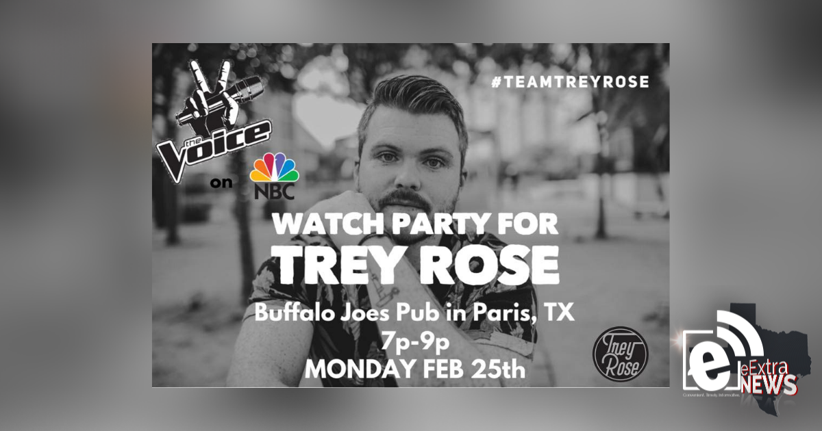 Watch party at Buffalo Joe's tonight for area musician on NBC's 'The Voice'