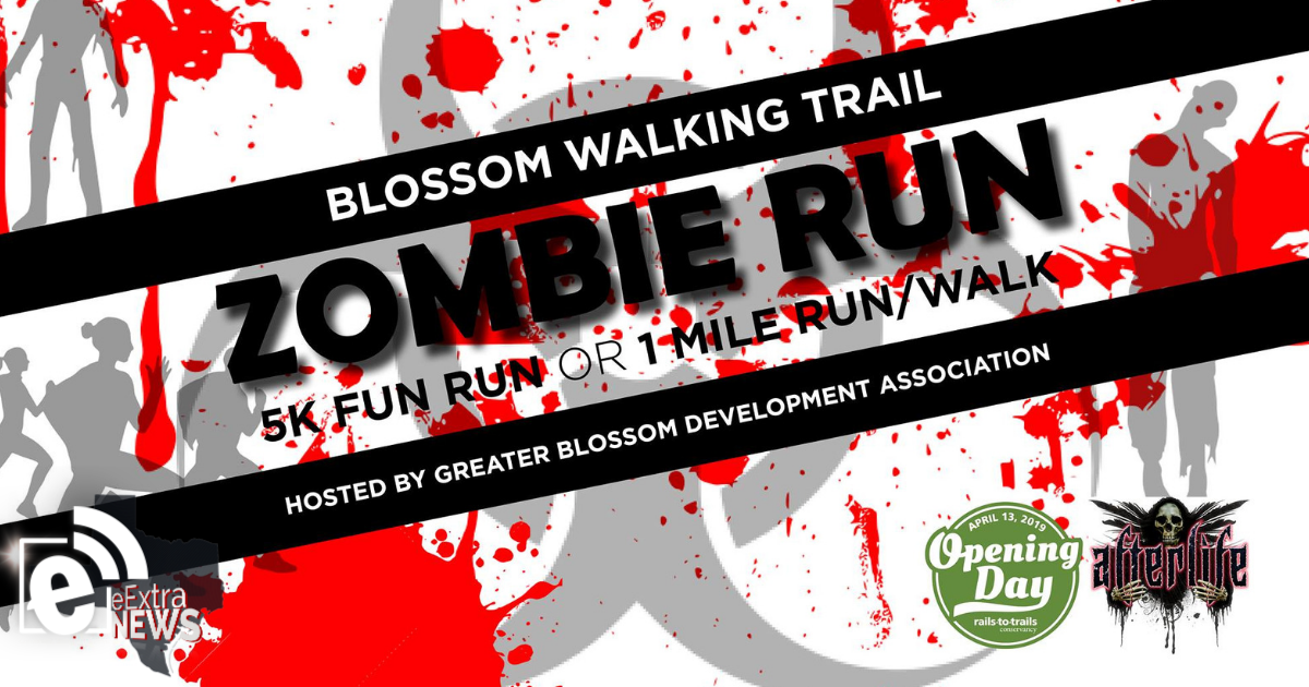 Zombie fun run is set for April 13, 2019