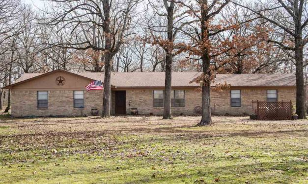 Four bedroom home for sale in Powderly, Texas    $199,900