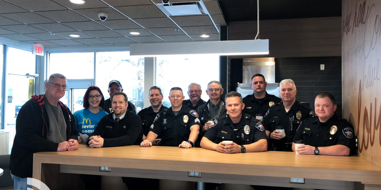 Paris Police and McDonald's partner together for 'Coffee with a Cop'