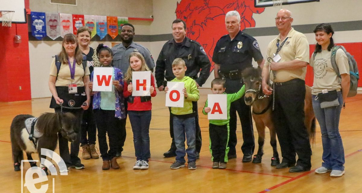 PPD hosts anti-bullying rally at Chisum Elementary School
