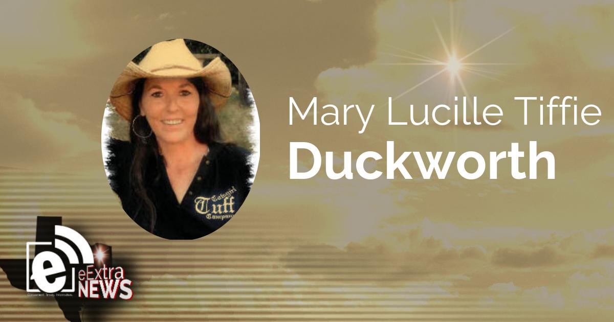 Mary Lucille Tiffie Duckworth of Bogata, Texas