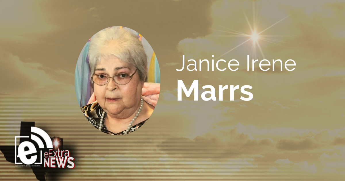 Janice Irene Marrs of Blossom, Texas