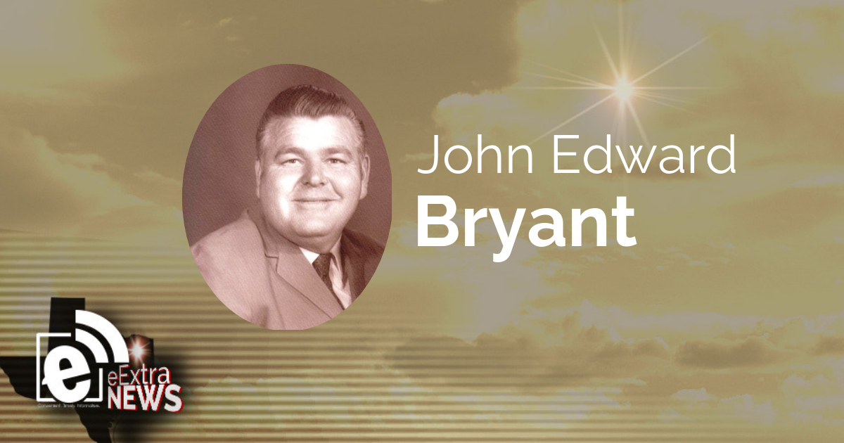 John Edward Bryant formerly of Lamar County