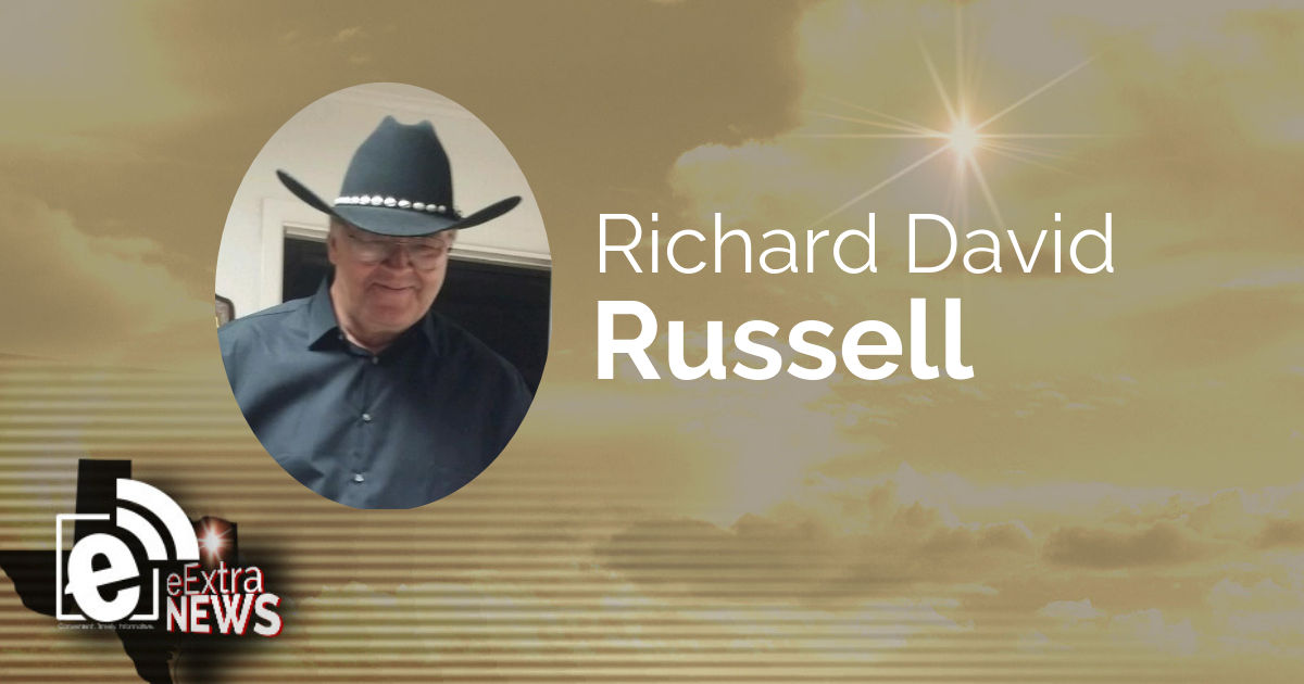 Richard David Russell of Paris, Texas
