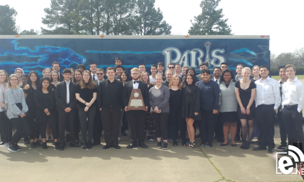 Paris High School Blue Blazes Band Wins 'Sweepstakes' Award