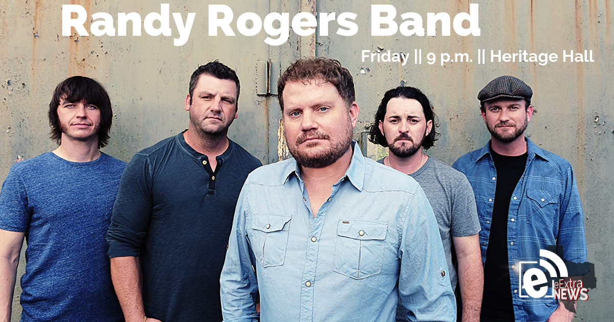 Tickets still available for tonight's late show of Randy Rogers Band at Heritage Hall