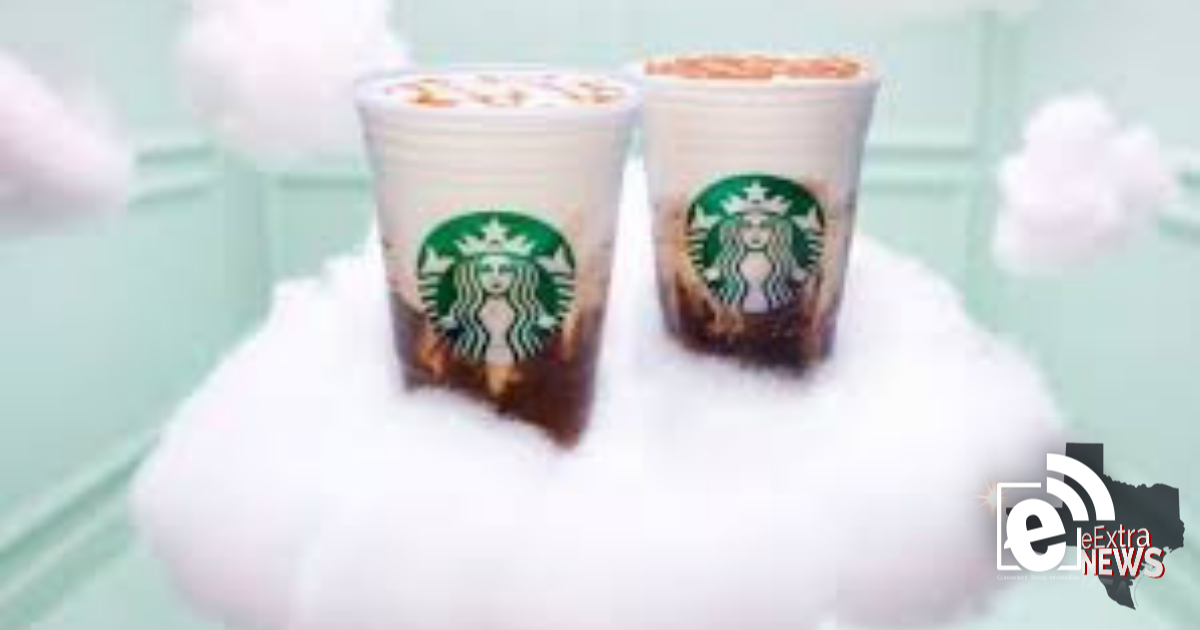 New drink is available at Starbucks || Ariana Grande is the face of the cloud macchiato