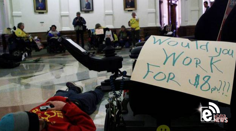Disability advocates want the Texas Legislature to invest in pay raises for home care workers