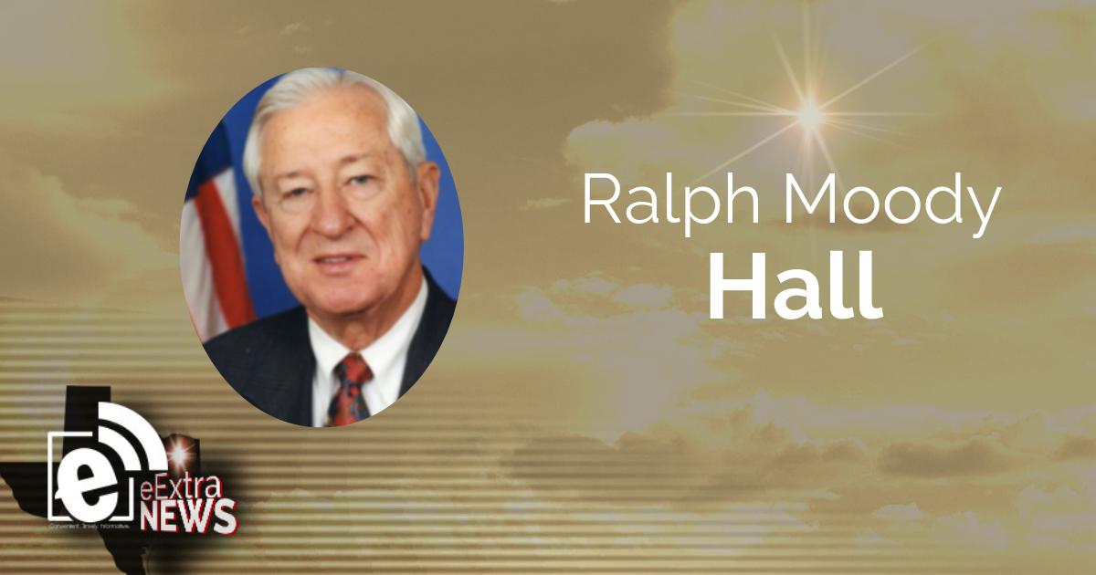 Ralph Moody Hall    Obituary