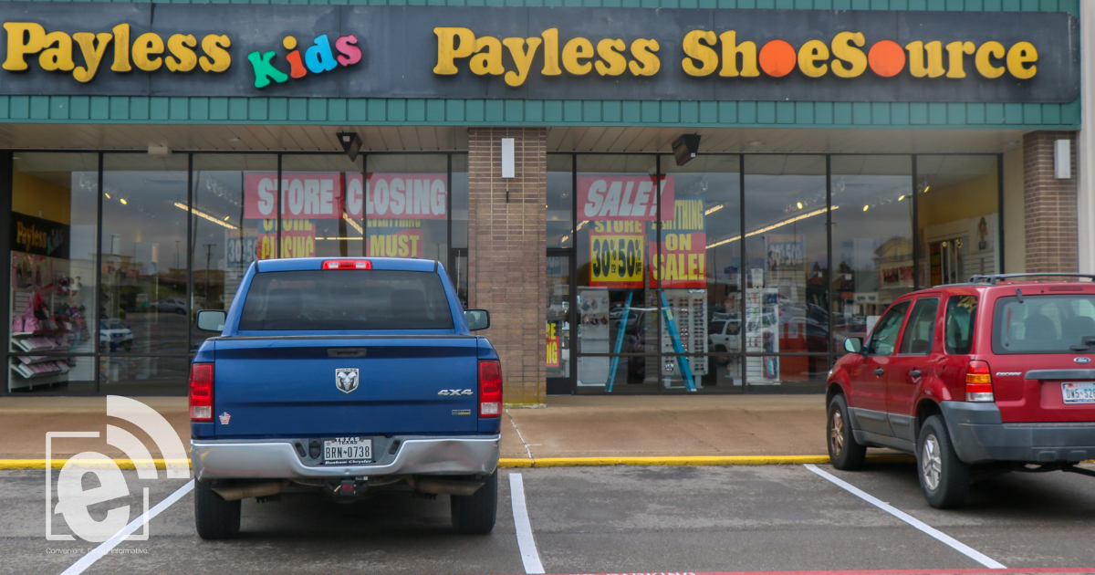 Today is the last day to use gift cards at Payless    Store closing soon