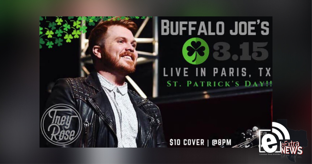 Trey Rose to perform at Buffalo Joe's Friday night