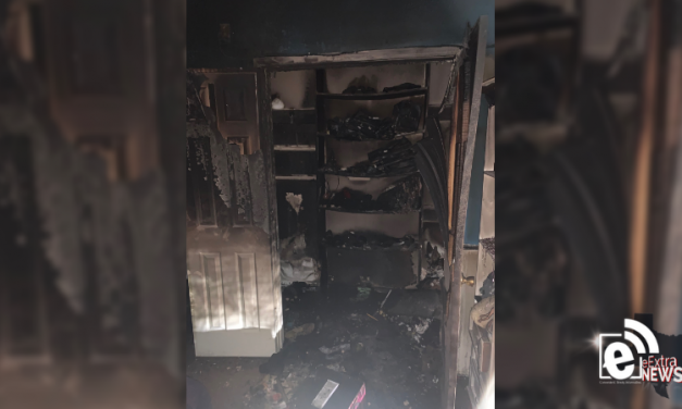 Local firefighter battles for his own home