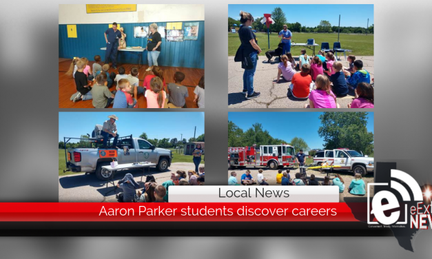 Aaron Parker students discover careers || Local businesses teach students about jobs