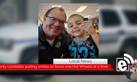 County constable putting smiles on faces one Hot Wheels at a time