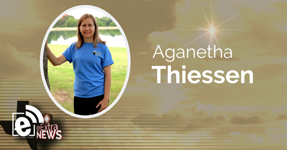 """Aganetha """"Neta"""" Thiessen of Paris, Texas"""