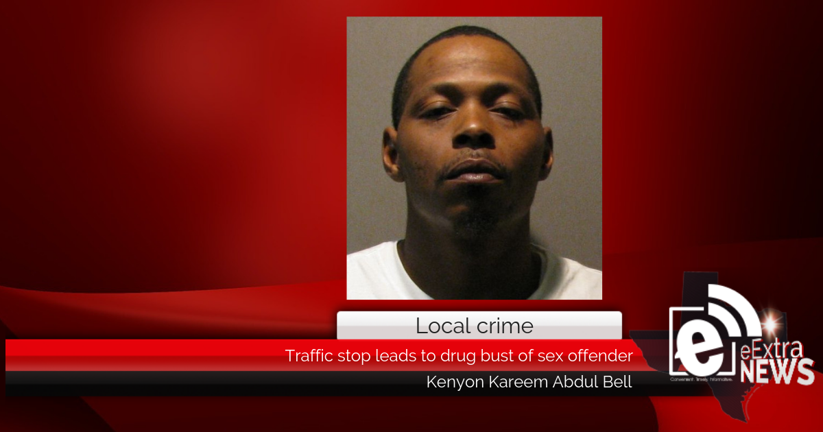 Traffic stop leads to drug bust of sex offender