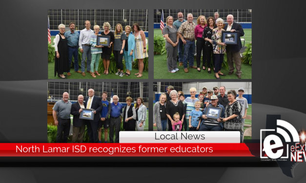 North Lamar ISD recognizes former educators