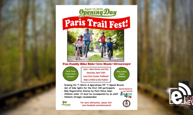 Northeast Texas Trail celebrates opening day on April 13    Activity-filled day in Lamar County