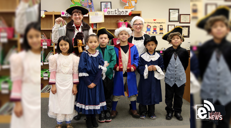 Justiss students re-enact history during colonial-themed fair
